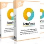 WP FotoPress Review – 1-CLICK Software That  Adds A Photoshop like Editor INSIDE  Any WordPress Site & Finds Millions  of Images for Blog Posts