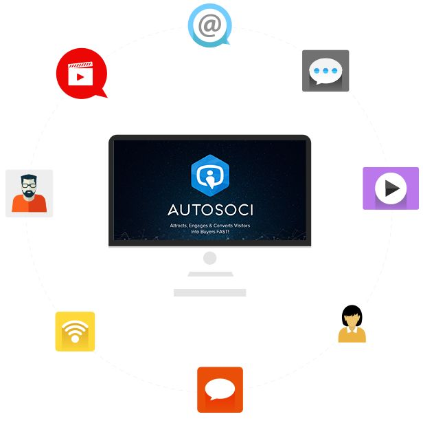 AutoSoci Review – Attracts, Engages & Converts Visitors Into Buyers FAST!