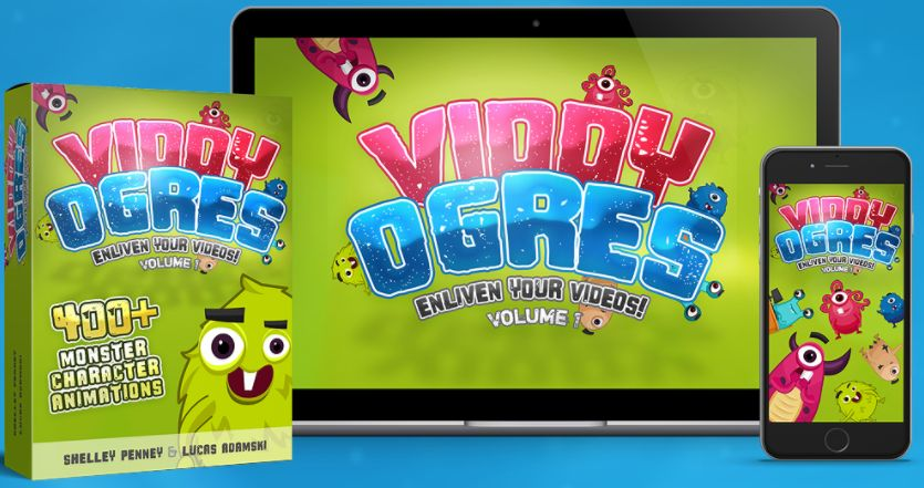 ViddyOgres Review – 400+ Mind-Blowing Character Animations To Make Your Videos Stand Out