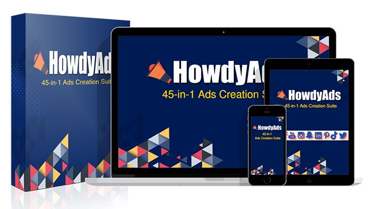 HowdyAds Review – 45 in 1 Ads Suite