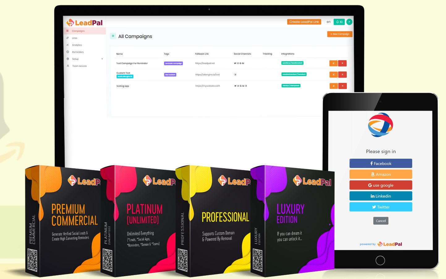 LeadPal Review – Your Subscribers Needs To Generate Verified Social Leads  & Create High Converting Reminders