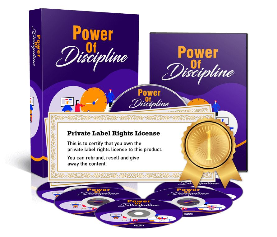 Power of Discipline Review – [PLR] Reach out for success with the POWER OF DISCIPLINE!